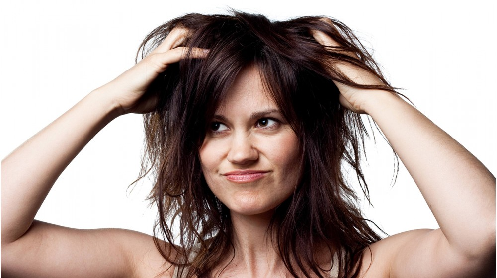 Care for oily hair